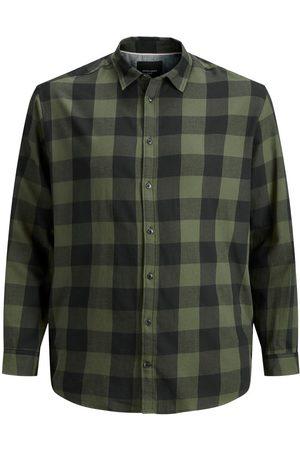 Jack & Jones Ruiten Plus Size Overhemd Heren Green