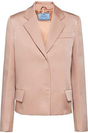 Prada Notch-lapel blazer jacket