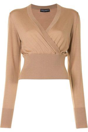 Dolce & Gabbana Wrap front jumper