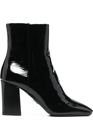Prada High shine 90mm ankle boots