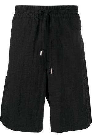 Heron Preston Logo-patch track shorts