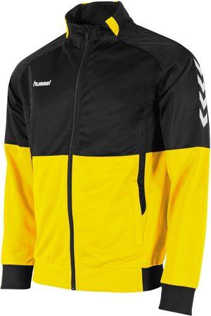 Hummel Jongens Sweaters - Authentic poly full zip jacket zwart