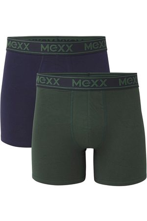 Mexx Boxers 2-pack navy/groen