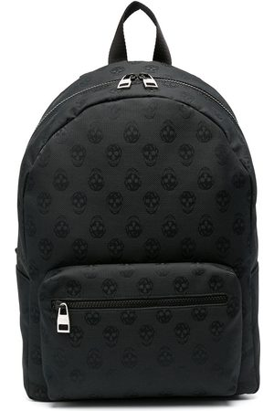 Alexander McQueen Zip-around skull backpack