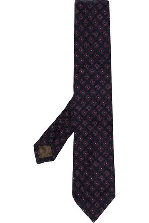 Church's Geometric pattern necktie