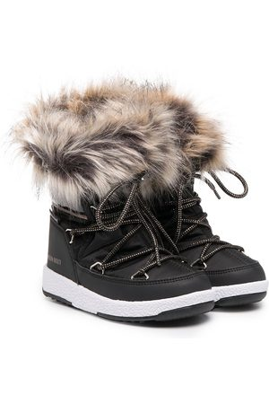 Moon Boot Faux-fur ankle boots