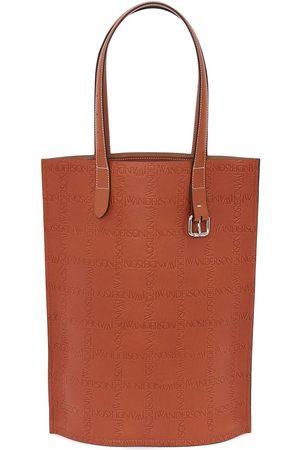 J.W.Anderson Shoppers - Debossed-logo tote bag