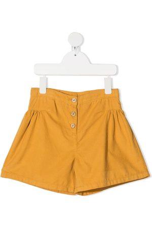 KNOT High-rise corduroy shorts