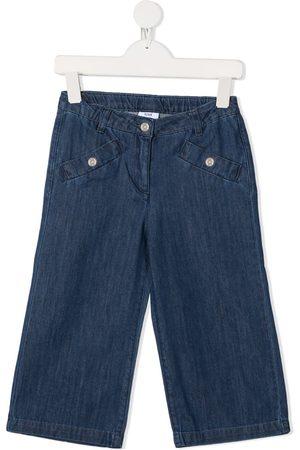 KNOT Nuriki wide-leg denim trousers