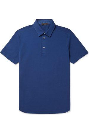 Loro Piana Cotton-Piqué Polo Shirt