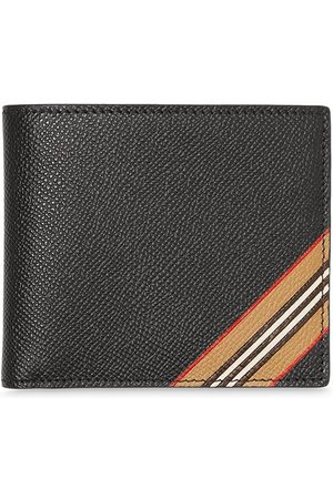 Burberry Heren Portemonnees - Icon stripe bifold wallet