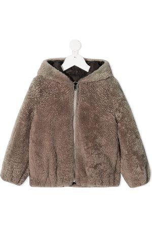 Brunello Cucinelli Zip-up hooded coat