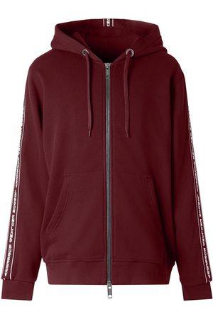 Burberry Logo tape zip-up hoodie