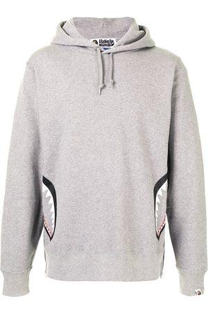 A BATHING APE® Camouflage back drawstring hoodie
