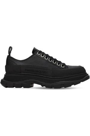 Alexander McQueen 45mm Tread Slick Leather Sneakers
