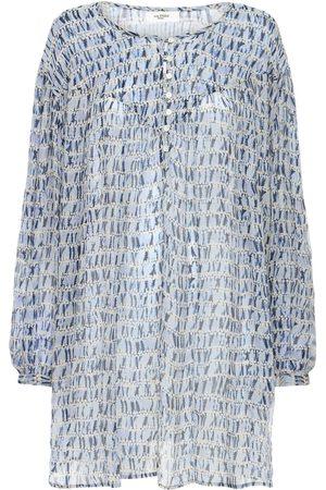 Isabel Marant Silorion Chiffon Mini Dress