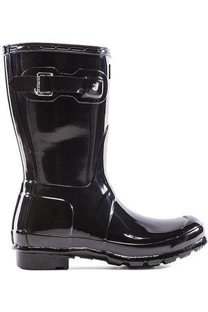Hunter Original Short Gloss Boot in
