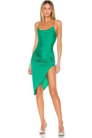 superdown Eva Twisted Slit Dress in