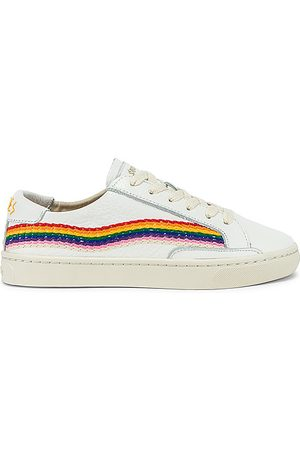 Soludos Rainbow Wave Sneaker in