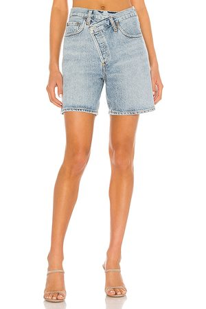 AGOLDE Criss Cross Short in . Size 23 (also in 24, 25, 26, 27, 28, 29, 30, 31, 32).