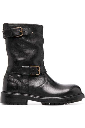 Dolce & Gabbana Horseride biker-style boots