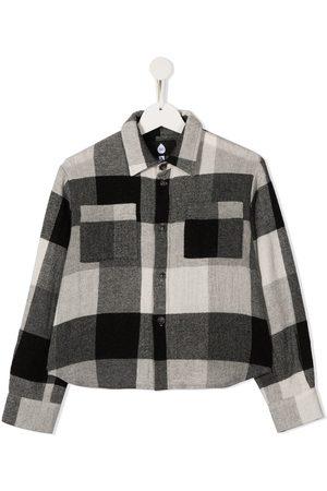 DUOltd Check wool shirt
