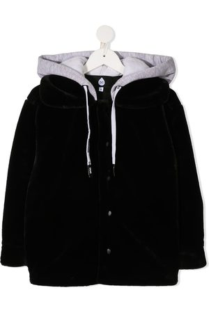 DUOltd Faux fur hooded jacket