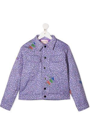 Natasha Zinko Floral cartoon jacket