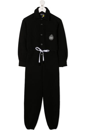 DUOltd Drops embroidery tapered-leg jumpsuit