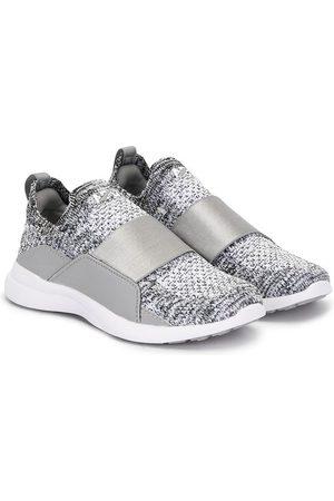 APL Athletic Propulsion Labs Mélange-effect slip-on sneakers