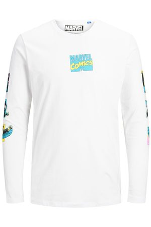 Jack & Jones Marvel Long-sleeved T-shirt Heren