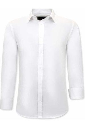 TONY BACKER Trendy overhemden slim fit