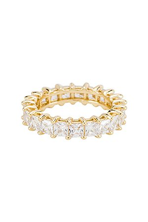 The M Jewelers The Princess Cut Eternity Band in