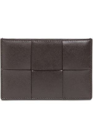 Bottega Veneta Maxi Intreccio Leather Card Holder