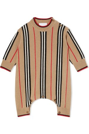 Burberry Icon Stripe knitted jumpsuit