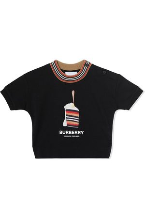 Burberry Cake print cotton T-shirt