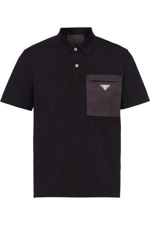 Prada Triangle logo polo shirt
