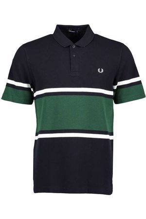 Fred Perry Bold FIne Stripe Polo Shirt