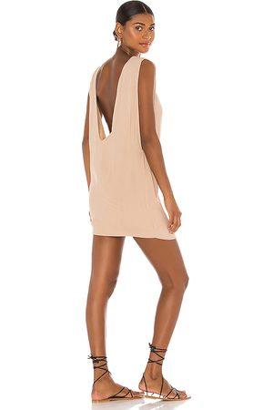Indah Pella Plunge Mini Dress in