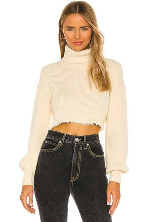 L'Academie Lucia Cropped Turtleneck in