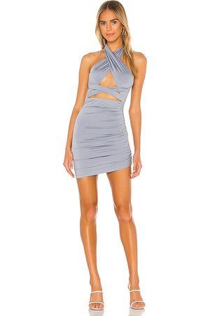 superdown Suzette Halter Mini Dress in