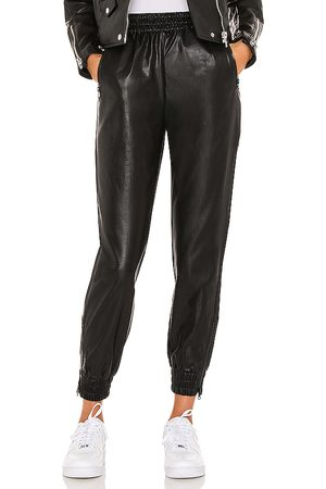 superdown Rinah Leather Jogger Pant in