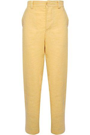 Jacquemus Heren Pantalon - Le Pantalon De Costume Linen Blend Pants