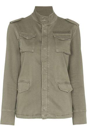 ANINE BING Garment-dyed military jacket