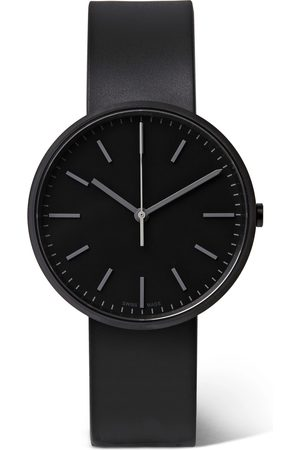 Uniform Wares Heren Horloges - M37 PreciDrive Stainless Steel and Leather Watch