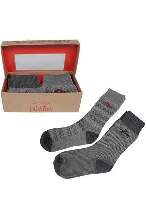 Montazinni Tokyo laundry heren giftbox sokken macklemore grijs