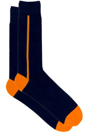 Saint Azul Extra lange heren sokken business bora bora - oranje