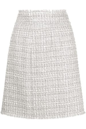 Dolce & Gabbana High-waisted tweed skirt