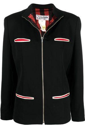 Jean Paul Gaultier High-neck zip-up jacket