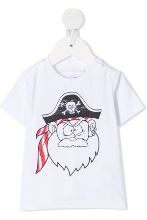 Stella McCartney Pirate-print short-sleeve T-shirt
